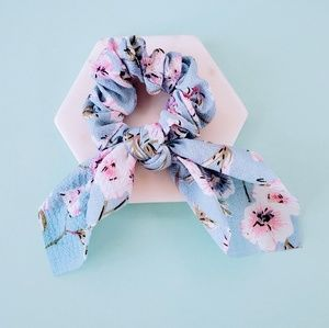 5 for $25 Scarf Bow Pony Tail Holder Scrunchie